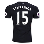 Liverpool 16/17 STURRIDGE Authentic Away Soccer Jersey