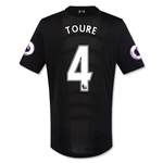 Liverpool 16/17 TOURE Authentic Away Soccer Jersey