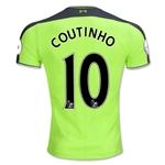 Liverpool 16/17 COUTINHO Authentic Third Soccer Jersey