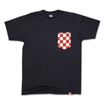 Croatia Pocket T-Shirt (Navy)