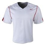 Nike Fast Break Game Lacrosse Jersey (Wh/Sc)