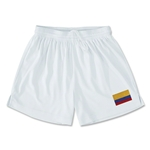 Colombia Team Soccer Shorts (White)