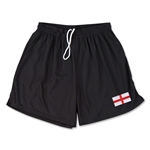 England Team Soccer Shorts (Black)