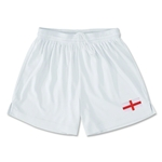 England Team Soccer Shorts (White)