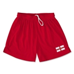 England Team Soccer Shorts (Red)