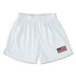 USA Team Soccer Shorts (White)