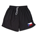 Czech Republic Team Soccer Shorts (Black)