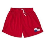 Panama Team Soccer Shorts (Red)