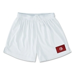 Tunisia Team Soccer Shorts (White)