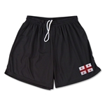 Georgia Team Soccer Shorts (Black)