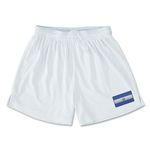 El Salvador Team Soccer Shorts (White)