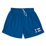 Finland Team Soccer Shorts (Royal)