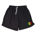 Senegal Team Soccer Shorts (Black)