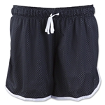 Nike Women's Drill Mesh Shorts (Black)