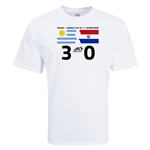 Copa America 2011 Uruguay 3-0 Paraguay Final Result T-Shirt