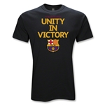 Barcelona Unity in Victory Soccer T-Shirt (Black)