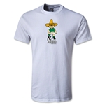 1970 FIFA World Cup Juanito Mascot T-Shirt (White)