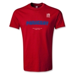 FIFA U-20 World Cup 2013 Paraguay T-Shirt (Red)