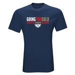 Going For Gold T-Shirt (Navy)