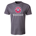 NSCAA T-Shirt (Dark Gray)