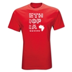 Ethiopia Country T-Shirt (Red)