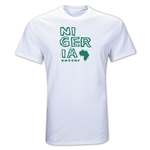 Nigeria Country T-Shirt (White)