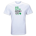 South Africa Country T-Shirt (White)