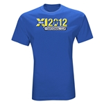 US Club Soccer 2012 National Cup T-Shirt (Royal)