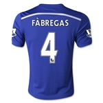 Chelsea 14/15 FABREGAS Youth Home Soccer Jersey