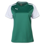 PUMA Women's Speed Jersey (Green/Wht)
