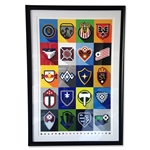 MLS Minimalist Team Logos Framed Print