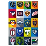 MLS Minimalist Team Logos Stretched Canvas