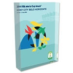 Belo Horizonte 2014 FIFA World Cup Brazil Host City Poster Acrylic Block Display