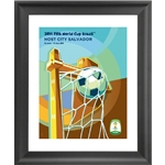 Salvador 2014 FIFA World Cup Host City Framed Print