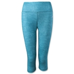 adidas Performer Mid-Rise Static Print 3/4 Tight (Mint)