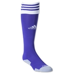 adidas Copa Zone Cushion II Irregular Sock 3 Pack (Pur/White)