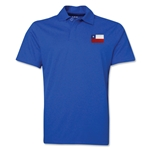 Chile Flag Soccer Polo (Royal)