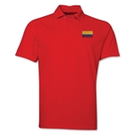 Colombia Flag Soccer Polo (Red)
