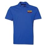 Ecuador Flag Soccer Polo (Royal)