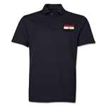 Egypt Flag Soccer Polo (Black)