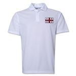 Georgia Flag Soccer Polo (White)