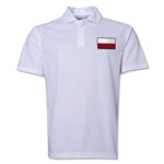 Poland Flag Soccer Polo (White)