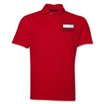 Poland Flag Soccer Polo (Red)