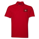 Hong Kong Flag Soccer Polo (Red)