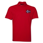 Norway Flag Soccer Polo (Red)
