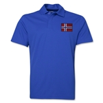 Norway Flag Soccer Polo (Royal)