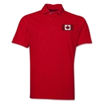 Canada Flag Soccer Polo (Red)