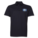 Guatemala Flag Soccer Polo (Black)