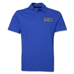 Fiji Flag Soccer Polo (Royal)