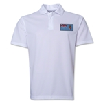Fiji Flag Soccer Polo (White)